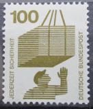 Poštovní známka Německo 1972 Prevence nehod Mi# 702 A