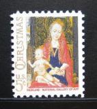 Poštovní známka USA 1966 Vánoce Mi# 912