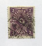 Poštovní známka Německo 1922 Poštovní roh Mi# 224