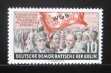 Poštovní známka DDR 1955 Konference odborů Mi# 452