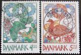Poštovní známky Dánsko 1999 Evropa CEPT Mi# 1207-08