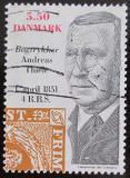 Poštovní známka Dánsko 2001 Andreas Thiele, tiskař Mi# 1274