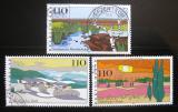 Poštovní známky Německo 1997 Scénické regiony Mi# 1943-45
