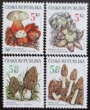Poštovní známky Česká republika 2000 Houby Mi# 260-63