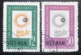 Poštovní známky Vietnam 1964 Rok Slunce Mi# 296-97