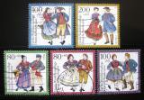 Poštovní známky Německo 1993 Kostýmy Mi# 1696-1700