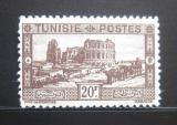 Poštovní známka Tunisko 1931 Římský amfiteátr Mi# 190 Kat 65€