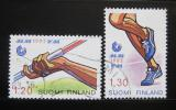 Poštovní známky Finsko 1983 MS v atletice Mi# 929-30