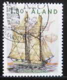 Poštovní známka Alandy 1988 Plachetnice Mi# 28