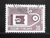 Poštovní známka Finsko 1962 Pokrok ve výrobě Mi# 554