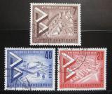 Poštovní známky Západní Berlín 1957 Výstava INTERBAU Mi# 160-62