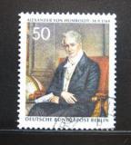 Poštovní známka Západní Berlín 1969 Alexander Humboldt Mi# 346