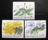 Poštovní známky Finsko 1983 Lesní rostliny Mi# 932-34