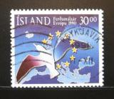 Poštovní známka Island 1990 Evropský rok turistiky Mi# 730