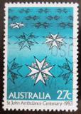 Poštovní známka Austrálie 1983 Ambulance sv. Jana Mi# 838