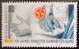 Poštovní známka Německo 1988 Záchranáři Mi# 1394