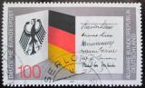 Poštovní známka Německo 1989 Výročí vzniku republiky Mi# 1421