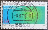 Poštovní známka Německo 1979 Atomy v krystalech Mi# 1021