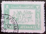Poštovní známka Afghanistán 1961 Buzkashi Mi# 581