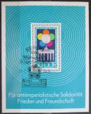 Poštovní známka DDR 1973 Festival mládeže Mi# Block 38