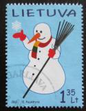 Poštovní známka Litva 2011 Sněhulák, vánoce Mi# 1084