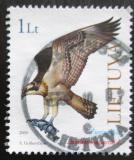 Poštovní známka Litva 2000 Orlovec říční Mi# 731
