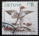 Poštovní známka Litva 1992 Morčák velký Mi# 503