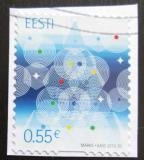 Poštovní známka Estonsko 2015 Vánoce Mi# 843