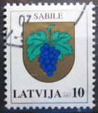 Poštovní známka Lotyšsko 2007 Znak Sabile Mi# 694 A I