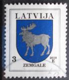Poštovní známka Lotyšsko 2010 Znak Zemgale Mi# 372 C XI