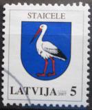 Poštovní známka Lotyšsko 2007 Znak Staicele Mi# 693 A I