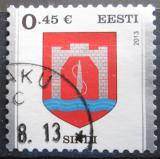 Poštovní známka Estonsko 2013 Znak Sindi Mi# 758
