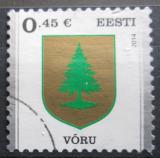 Poštovní známka Estonsko 2014 Znak Voru Mi# 787
