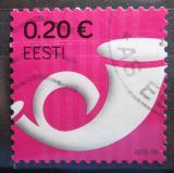 Poštovní známka Estonsko 2016 Poštovní roh Mi# 864