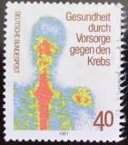 Poštovní známka Německo 1981 Prevence rakoviny Mi# 1089