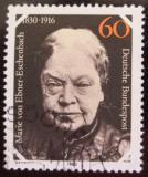 Poštovní známka Německo 1980 Marie Ebner-Eschenbach Mi# 1057