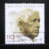Poštovní známka Německo 1998 Ernst Junger, spisovatel Mi# 1984