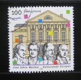 Poštovní známka Německo 1999 Výročí založení Výmaru Mi# 2028