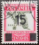 Poštovní známka Kolumbie 1939 Banány přetisk Mi# 398