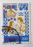 Poštovní známka Faerské ostrovy 1982 Středověká balada Mi# 75
