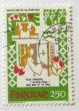 Poštovní známka Faerské ostrovy 1982 Středověká balada Mi# 76