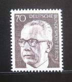 Poštovní známka Západní Berlín 1971 Prezident Heinemann Mi# 366