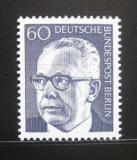 Poštovní známka Západní Berlín 1971 Prezident Heinemann Mi# 394
