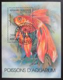 Poštovní známka Madagaskar 1994 Akvarijní ryba Mi# Block 263