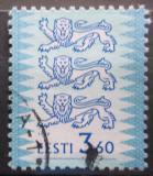 Poštovní známka Estonsko 1999 Státní znak Mi# 356