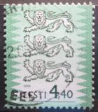 Poštovní známka Estonsko 2002 Státní znak Mi# 376
