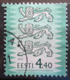 Poštovní známka Estonsko 2000 Státní znak Mi# 376 I