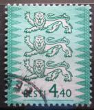 Poštovní známka Estonsko 2001 Státní znak Mi# 376 II