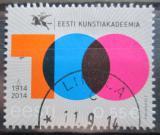 Poštovní známka Estonsko 2014 Akademie umění Mi# 804