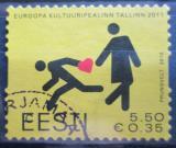 Poštovní známka Estonsko 2010 Tallinn, město kultury Mi# 672
